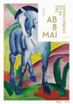 Marc, Franz: Blaues Pferd (Plakat mit Datum)