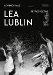 Lea Lublin Retrospektive  (Plakat)