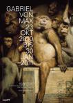 Gabriel von Max: Ausstellungsplakat