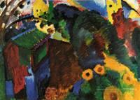 Kandinsky, Wassily: Garten, 1910 (Plakat)