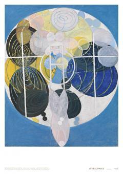 Weltempfänger (Plakat Hilma af Klint, Gruppe III, Die großen Figurenbilder, Der Schlüssel zur bisherigen Arbeit)