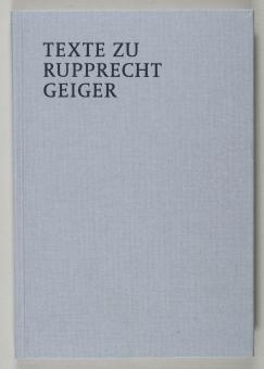 Geiger, Rupprecht - Texte