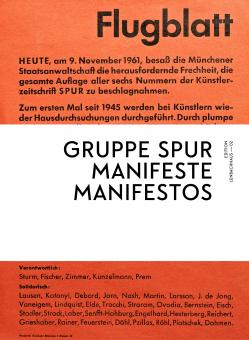 Gruppe SPUR Manifeste / Manifestos (Edition Lenbachhaus – 02)