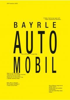 Thomas Bayrle. Automobil.