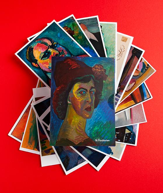 "Postkartenset ""Lebensmenschen"""