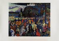Kandinsky, Wassily: Das bunte Leben, 1907 (Plakat)