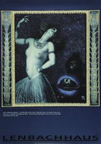 Stuck, Franz von: Salome, 1906 (Plakat)