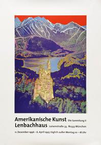 Warhol, Andy: Neuschwanstein (Ausstellungsplakat)