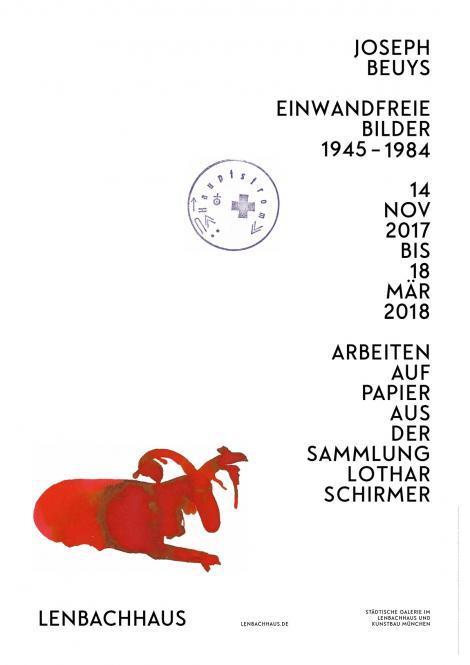 Joseph Beuys. Einwandfreie Bilder 1945-1985 (Plakat)
