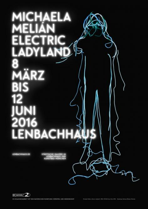 Michaela Melián - Electric Ladyland (Plakat)