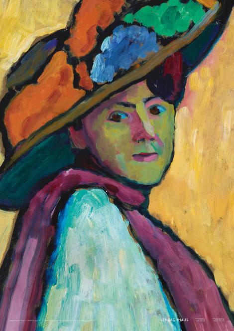 Gabriele Münter (Plakat ohne Schrift)
